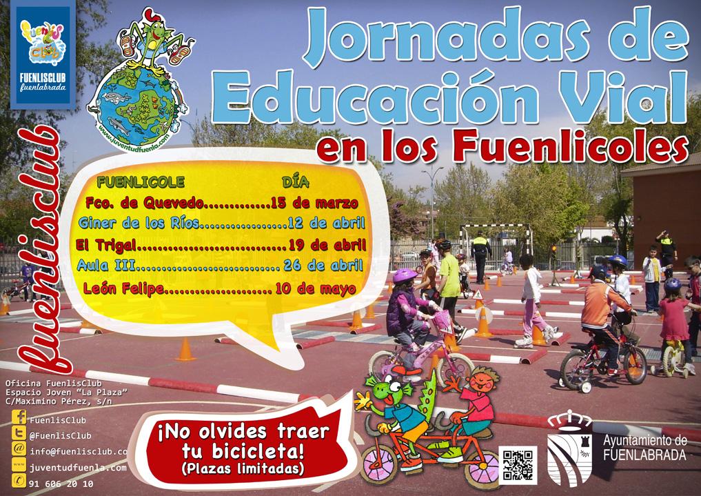 Jornadas de Educación Vial en los Fuenlicoles