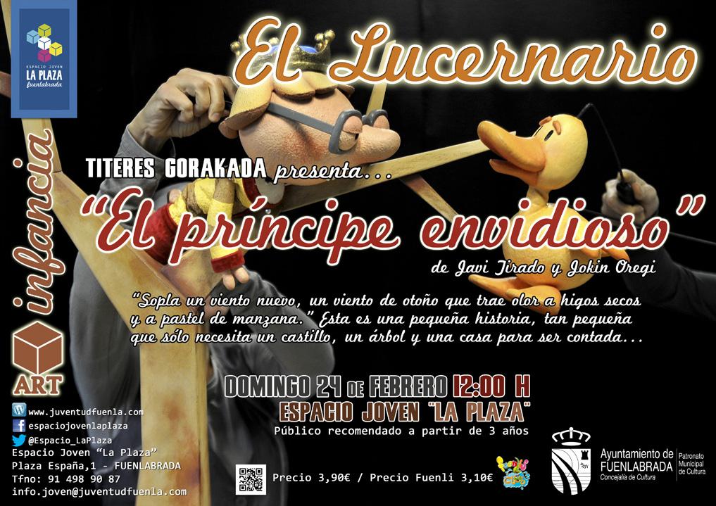 """El Lucernario: """"El príncipe envidioso"""", de Javi Tirado y Jokin Oregi"""