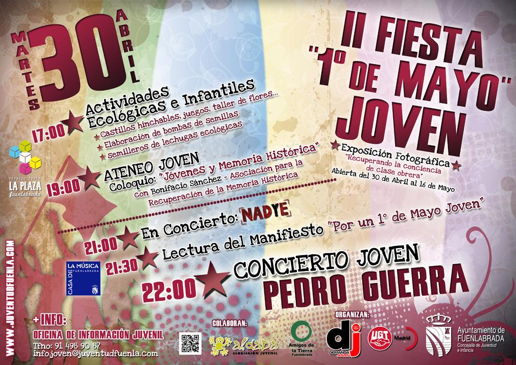 30 de Abril - Fiesta del Primero de Mayo Joven