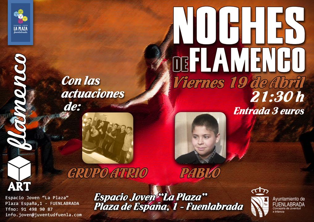 """""""Noches de Flamenco"""" en el Espacio Joven """"La Plaza"""""""