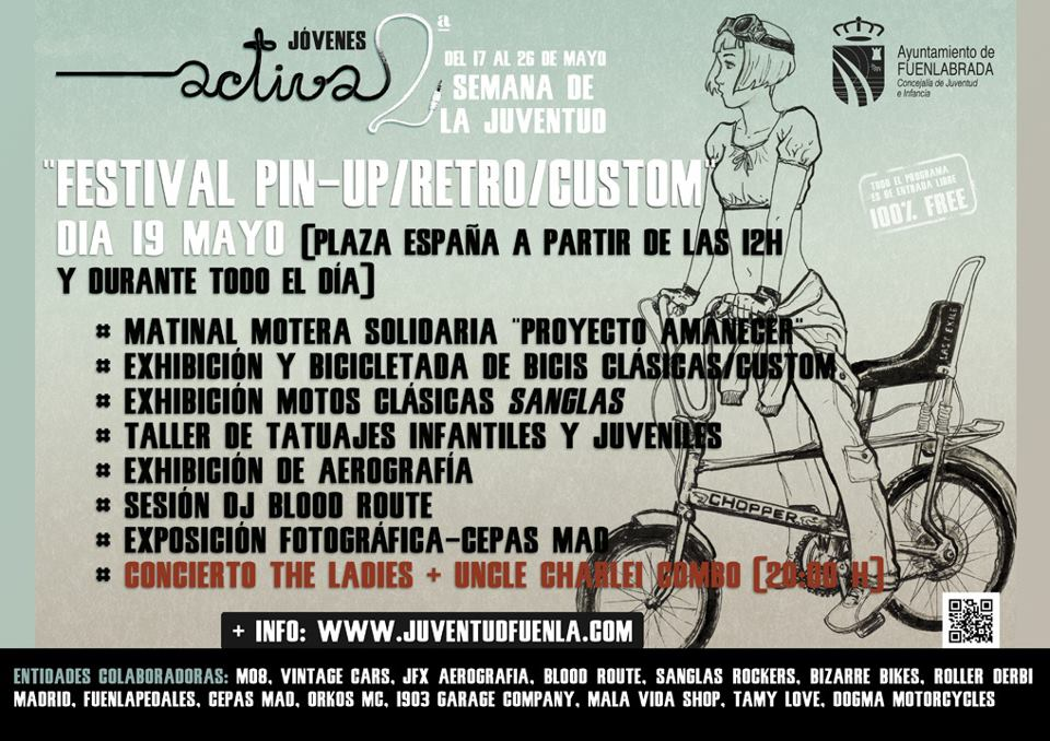 Festival Pin Up