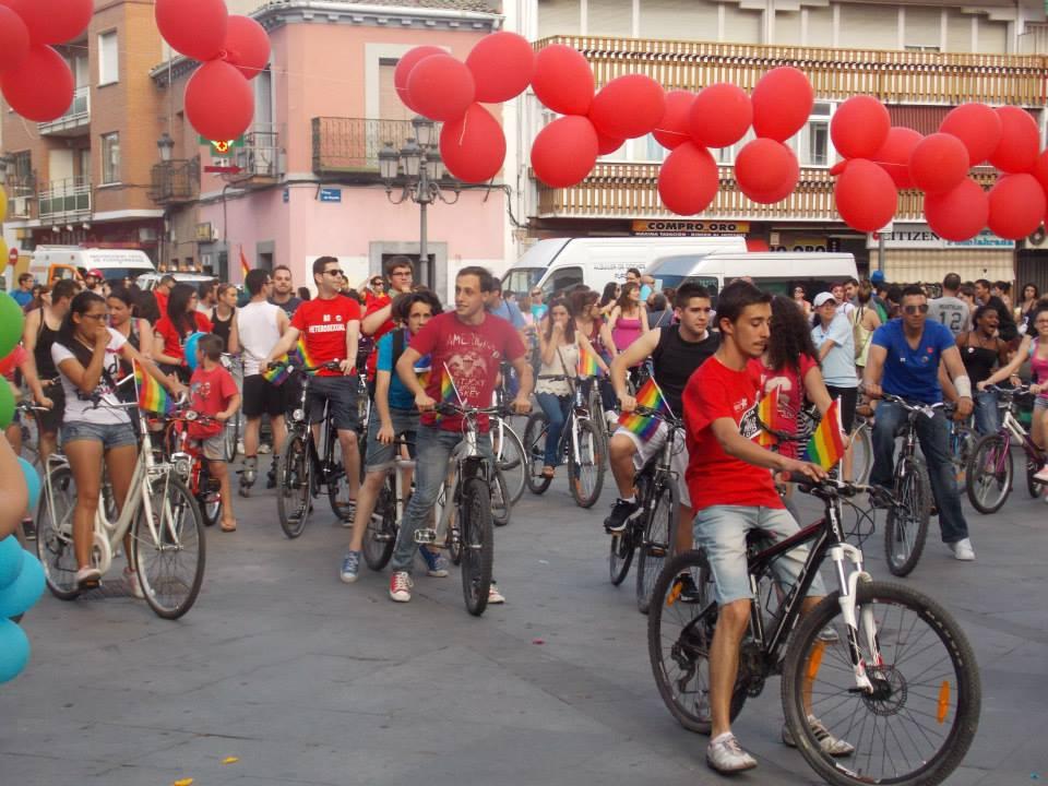 IV Bicicletada por la Diversidad Sexual