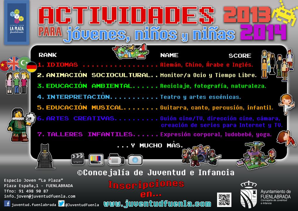Cursos y talleres 2013/2014