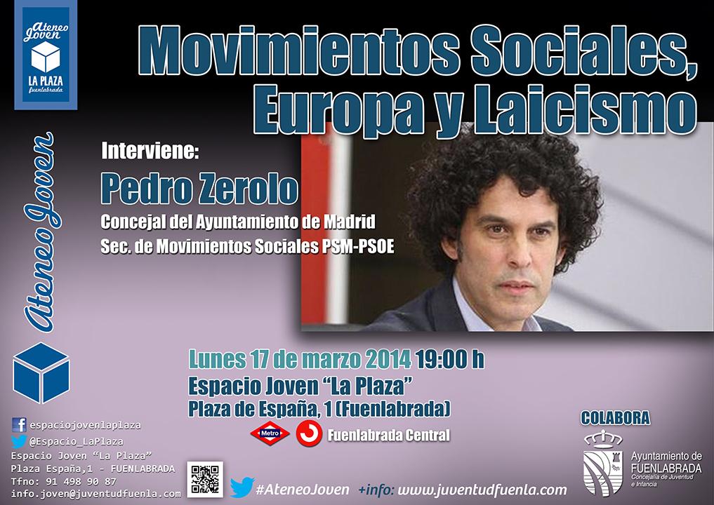"""Pedro Zerolo en el #AteneoJoven del Espacio Joven """"La Plaza"""""""