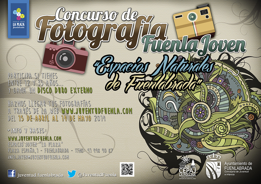 """I Concurso de Fotografía Fuenlajoven """"Espacios Naturales de Fuenlabrada"""""""