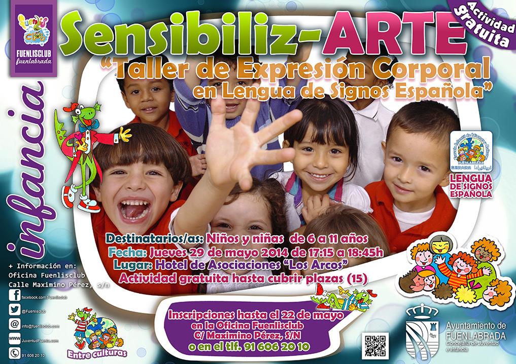 """""""Sensibiliz-ARTE"""": Taller de Expresión Corporal en Lengua de Signos Española."""