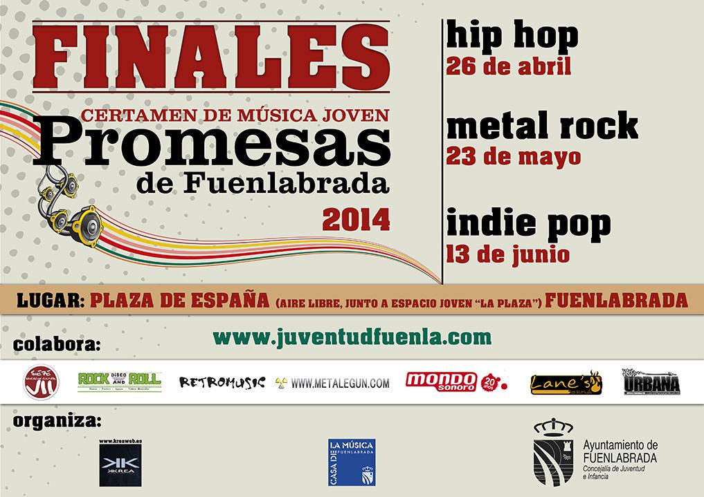 """I Certamen de Música Joven """"Promesas de Fuenlabrada"""" 2014"""