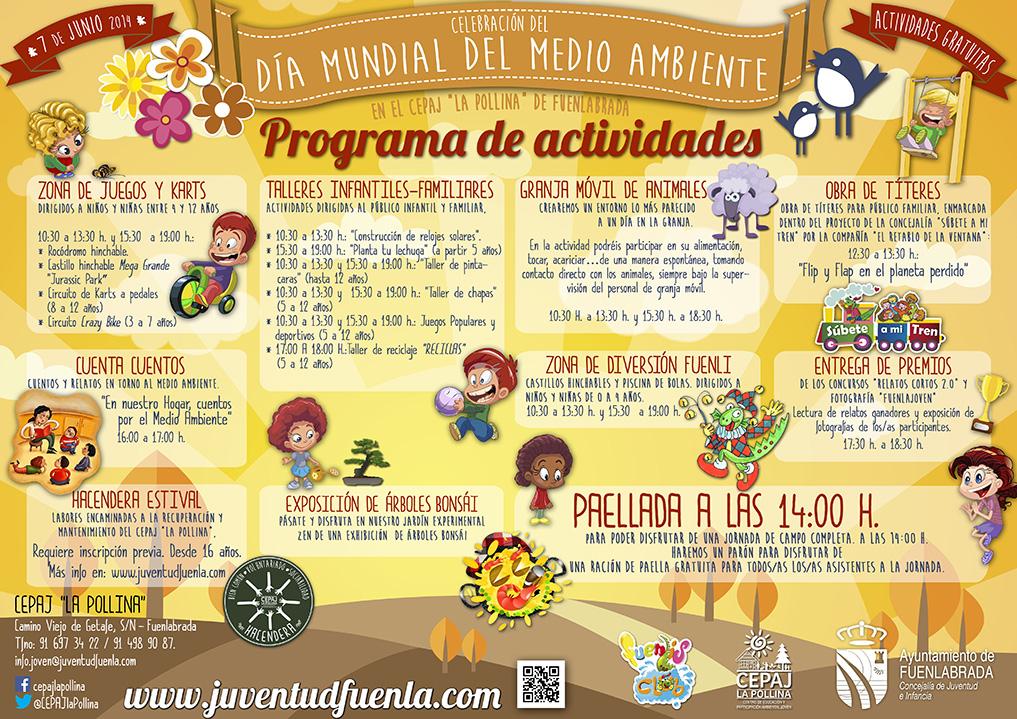 """Celebra con nosotros/as el Día Mundial del Medio Ambiente en el CEPAJ """"La Pollina"""""""