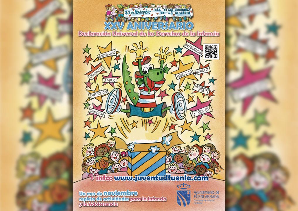 Celebra con nosotros/as el XXV Aniversario de la Declaración Universal de los Derechos de la Infancia