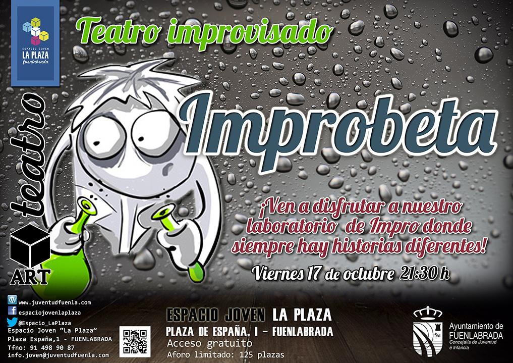 """Teatro improvisado en el Espacio Joven """"La Plaza"""""""