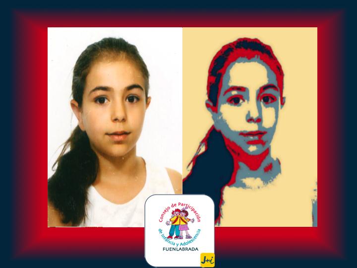 Aitana Larrubia - Candidata al Consejo de Niños y Niñas de Fuenlabrada